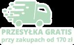 przesyłka gratis przy zamówieniach od 200 zł