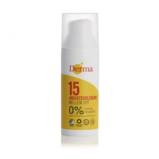 Derma Sun Krem do twarzy SPF 15, 50 ml