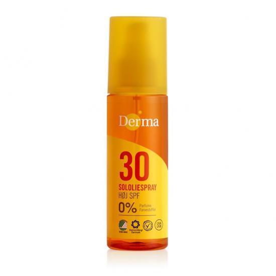 Derma Sun Olejek słoneczny SPF 30, 150 ml