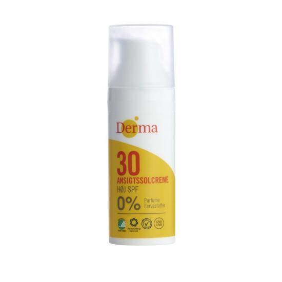 Derma Sun Krem słoneczny do twarzy SPF 30, 50 ml