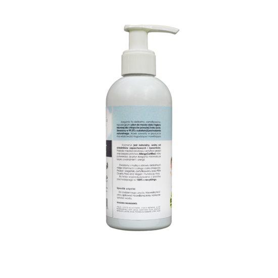 Płyn do mycia ciała i higieny intymnej Kids Chłopiec 200 ml