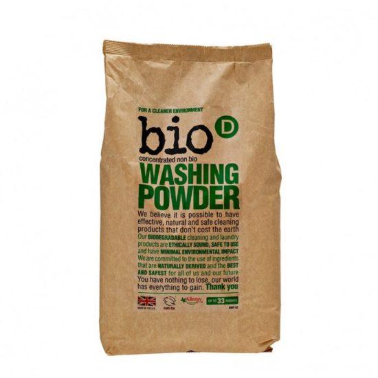 Proszek - Koncentrat do prania - Biel Bio-D- 33 prania