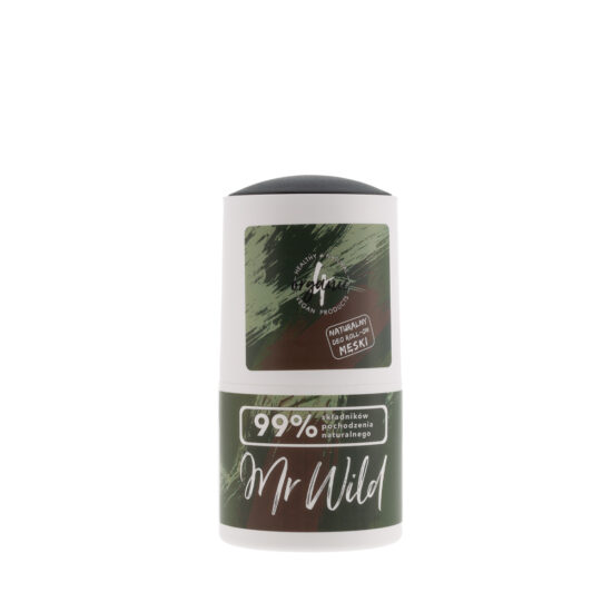 Naturalny deo roll-on MR WILD 50ml