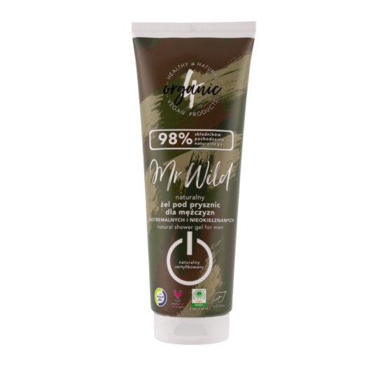 Naturalny żel pod prysznic MR WILD 250 ml