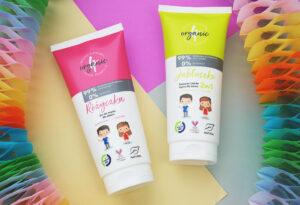 Kosmetyki dla dzieci o zapachu jabłuszka lub różyczki - recenzja