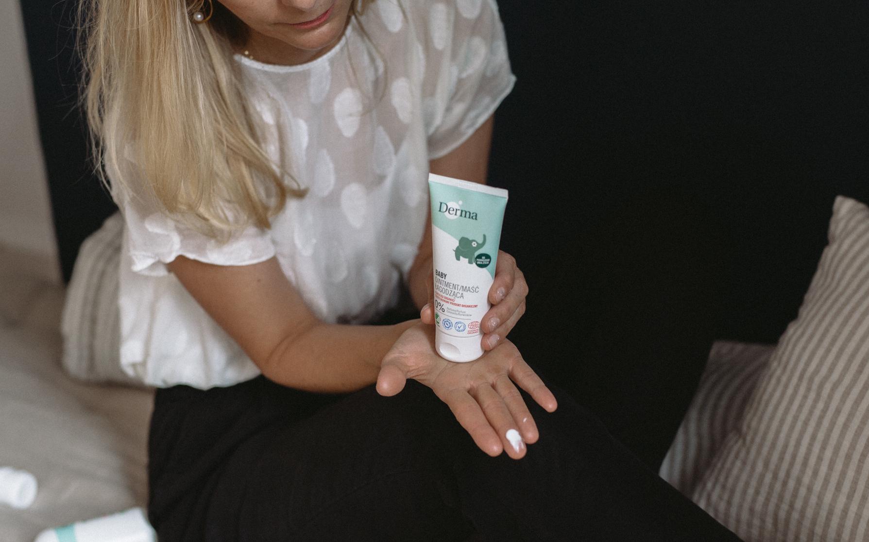maść łagodząca nabuźkę wchłodne dni, Derma, naturalne kosmetyki